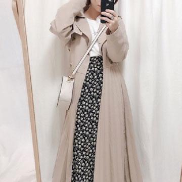 """春アウターは""""ロング丈""""でおしゃ見え♡スプリングコートを取り入れたコーデ5選"""