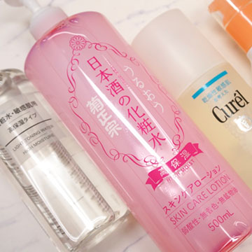 【ALL2,000円以下】敏感肌でも使える高コスパ化粧水を徹底検証!プチプラ保湿化粧水4種レビュー