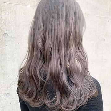 優しげ×透明感の最強ヘア♡春の#ラテカラーヘアカタログ