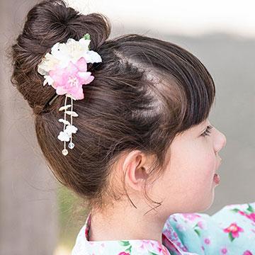 子供にやってあげたい浴衣ヘア♡忙しいママでもできる簡単ヘアアレンジ特集