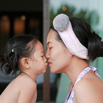 ママ必見!子どもと一緒のお風呂で叶える美肌♡時短・美を同時に叶えよう♪