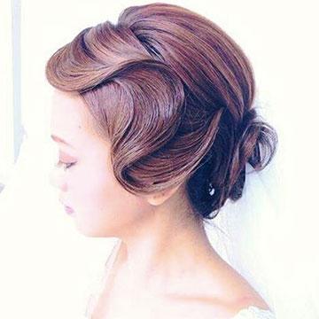 レトロ可愛い前髪代表♪フィンガーウェーブの作り方♡
