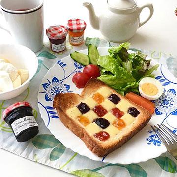 【子供の朝食にも◎】朝を楽しく!トーストのアレンジアイデア9選