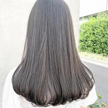 【2021夏】ブルー・グレージュで涼やかに。大人女子におすすめの暗髪カラー6選