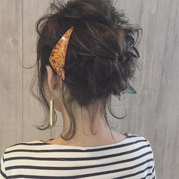 首元すっきり!暑い夏でも涼し気に見えるアップヘアアレンジ9選