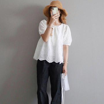 【パフスリーブ】で女性らしさ全開♡夏にぴったりのコーデ特集