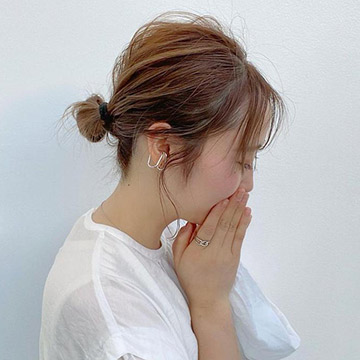 暑い日はまとめ髪で爽やかに!こなれヘアが叶う簡単アレンジ8選