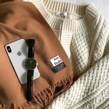 服装に悩む秋。気温をもとに服装を選んでみて♡