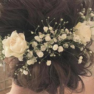 【花嫁必見】結婚式・二次会におすすめ♡ミディアムヘアでも楽しめるヘアアレンジ13選