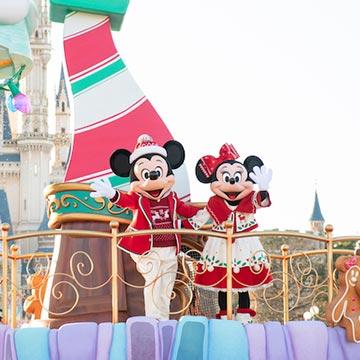 35周年のお祝いムードに染まる♡東京ディズニーランドの「ディズニー・クリスマス」は楽しみがいっぱい!