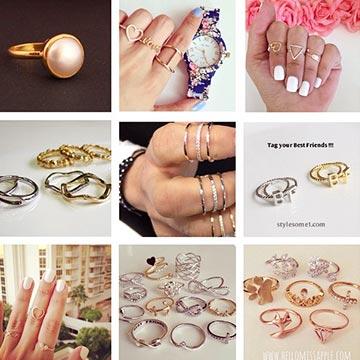 指輪がパワーをくれるかも♡指輪をつけるそれぞれの指が持つ意味
