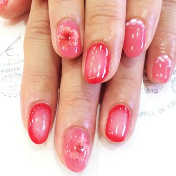 おフェロnail・ベルベットnail・aurora nail・tattoo nail・パターンnail