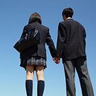 家に着くと学校で憧れている先輩が自分の家に!【妄想】