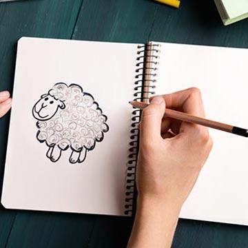 【影響力診断】動物の絵を描いてください。描いた動物は?