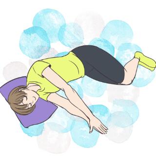 キレイは朝作る!寝起き3分エクササイズ「背骨の調整」