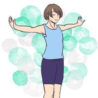 小顔と美乳に必要な筋肉を同時に鍛える「ショルダーローテーション」