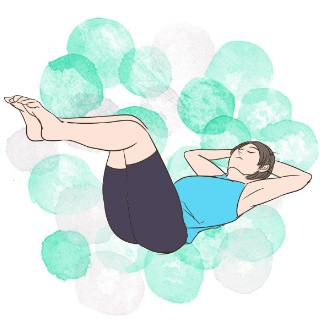 冬太り予防エクササイズ!シザーズでお腹周りをシェイプアップ