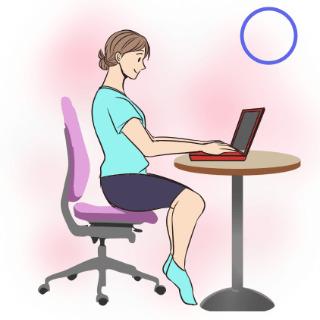 デスクワーク中でも代謝の向上ができる正しい姿勢・正しい座り方