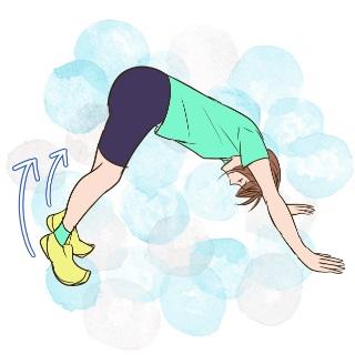 たったの5分でモテ体型に♡足首を簡単に細くするエクササイズ