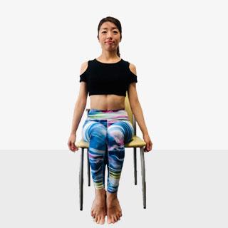 ウエスト引き締めに効く「デスクで腹筋!側筋しぼり」気分アゲアゲトレーニング