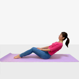 エアデッキチェア座り方で筋肉を鍛えて体幹を安定させるトレーニング③