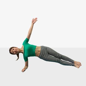 身体が軽くなる!芯からキレイを作る体幹トレーニング「中級編」