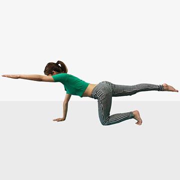 身体が軽くなる!芯からキレイを作る体幹トレーニング「上級編」