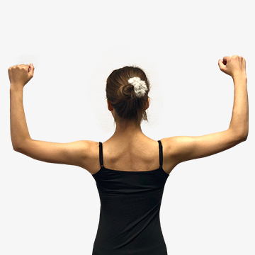 肩こりの原因?悪い姿勢を直そう!「なで肩の治し方」
