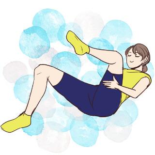 痩せるために鍛えるべきお腹の筋肉を鍛える「レッグキック」
