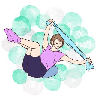 痩せるために鍛えるべきお腹の筋肉を鍛える「ウエストシェイプ」