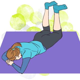 自分でできる骨盤ダイエット「骨盤調整エクササイズ」のやり方