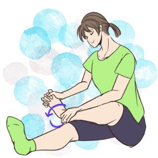 テレビを見ながらできる!足首を細くするエクササイズ