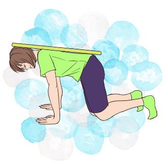 雨の日にできる!傘を使ってできる体幹ダイエット法