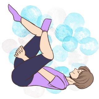 朝が苦手で起きられない時の寝起きストレッチと呼吸法