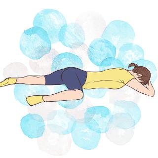 体が硬いと太る?股関節を自由に動かす「うつ伏せニーアップ」
