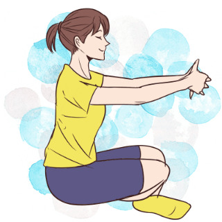 本気女子だけが挑戦!女の子的肉体改造「上肢ストレッチ」
