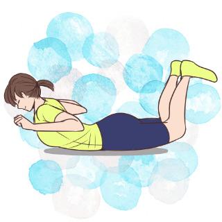1週間で背筋をスッキリさせる!女の子的肉体改造方法