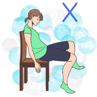 普段から心がけるだけでダイエットに♡悪い姿勢&痩せる座り方