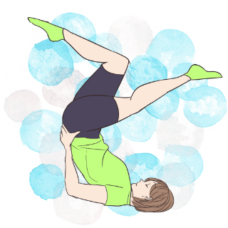 5分でできる寝る前ちょこっと運動「背筋エクササイズ」