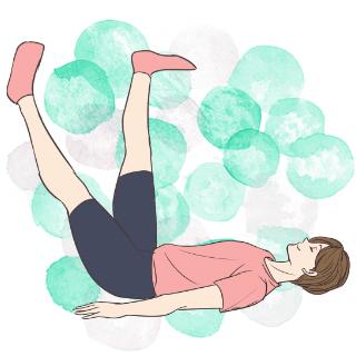 寝る前の5分でできる脚痩せ「開脚エクササイズ」