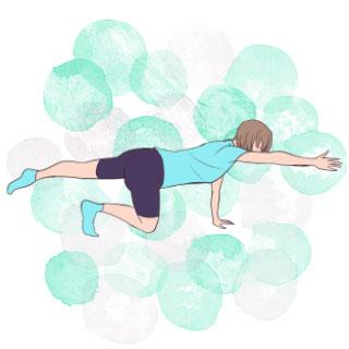 """寝る前5分の""""ゆっくり""""が効果的♡スロトレ下腹部エクササイズ"""