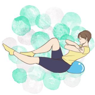 基礎代謝UP!痩せ体質を作れる「クッションを使ってレッグキック」
