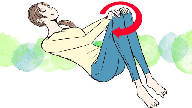 ぽっこりお腹を解消するための歪みセルフチェックと骨盤体操のやり方