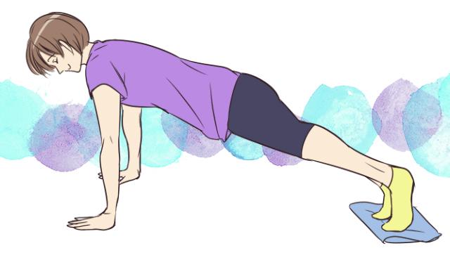1ヶ月で腹筋を割ろう!タオルを使った腹筋エクササイズ