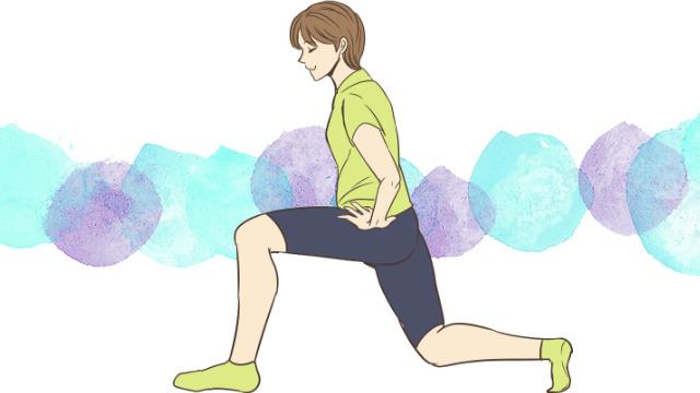 たったの2週間で美脚になれるトレーニング「ランジ」