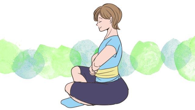 お腹を凹ます呼吸法とは?胸式呼吸でお腹周りをスッキリ!