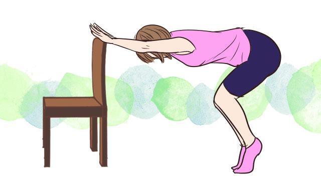 簡単にできるふくらはぎ・足首痩せエクササイズ「ヒールアップレイズ」