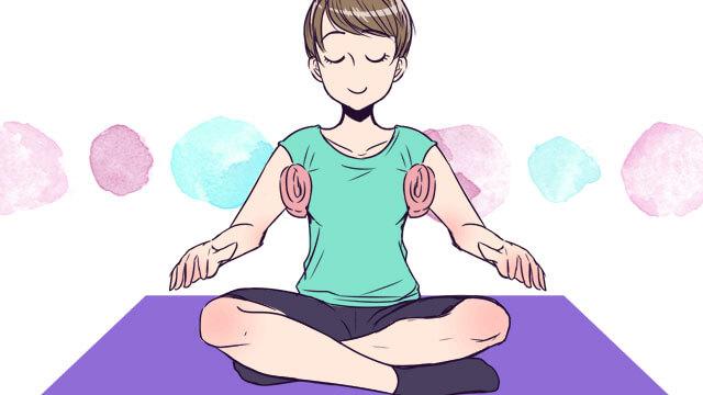 胸の形を整える方法~垂れた胸を矯正するエクササイズ