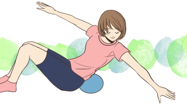 おうちで座ってできる脇腹や腰周りをすっきりさせるエクササイズ