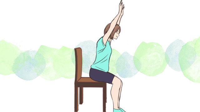 たった5分で肩周りをすっきりできるショルダーアップエクササイズ